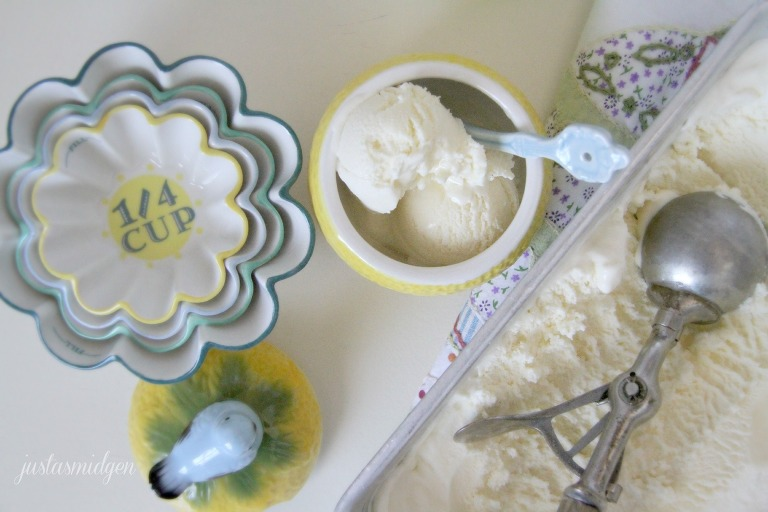 Elderflower Ice Cream 2