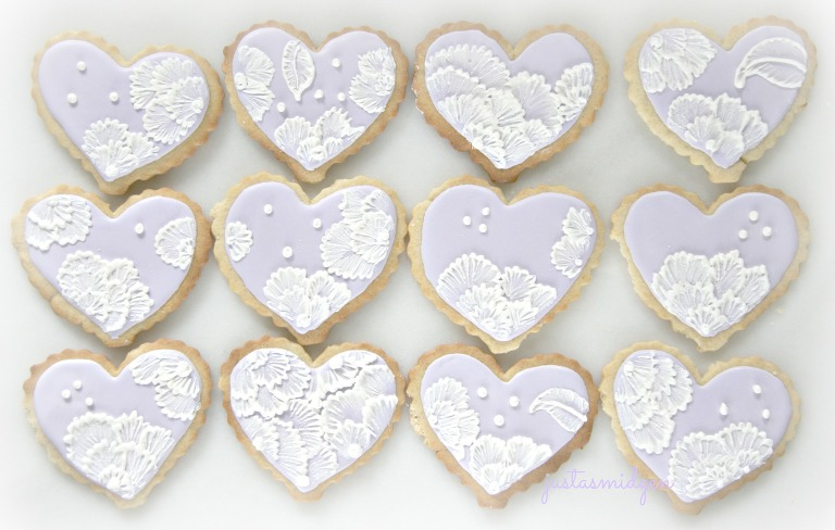 Brush Embroidered Cookies 2