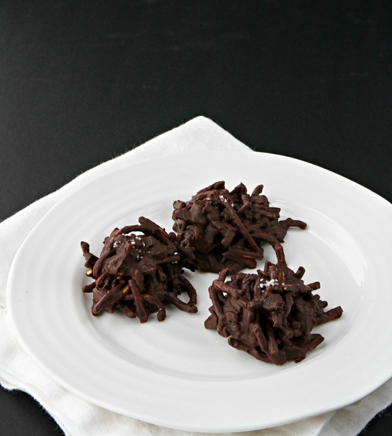 Salted Chocolate Haystacks FGA